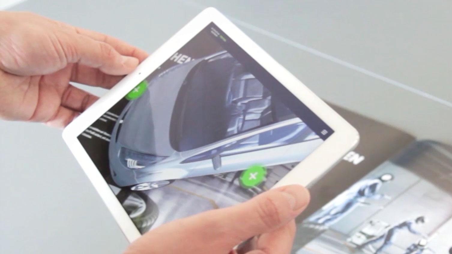 Printprodukte als 3D-Plattform