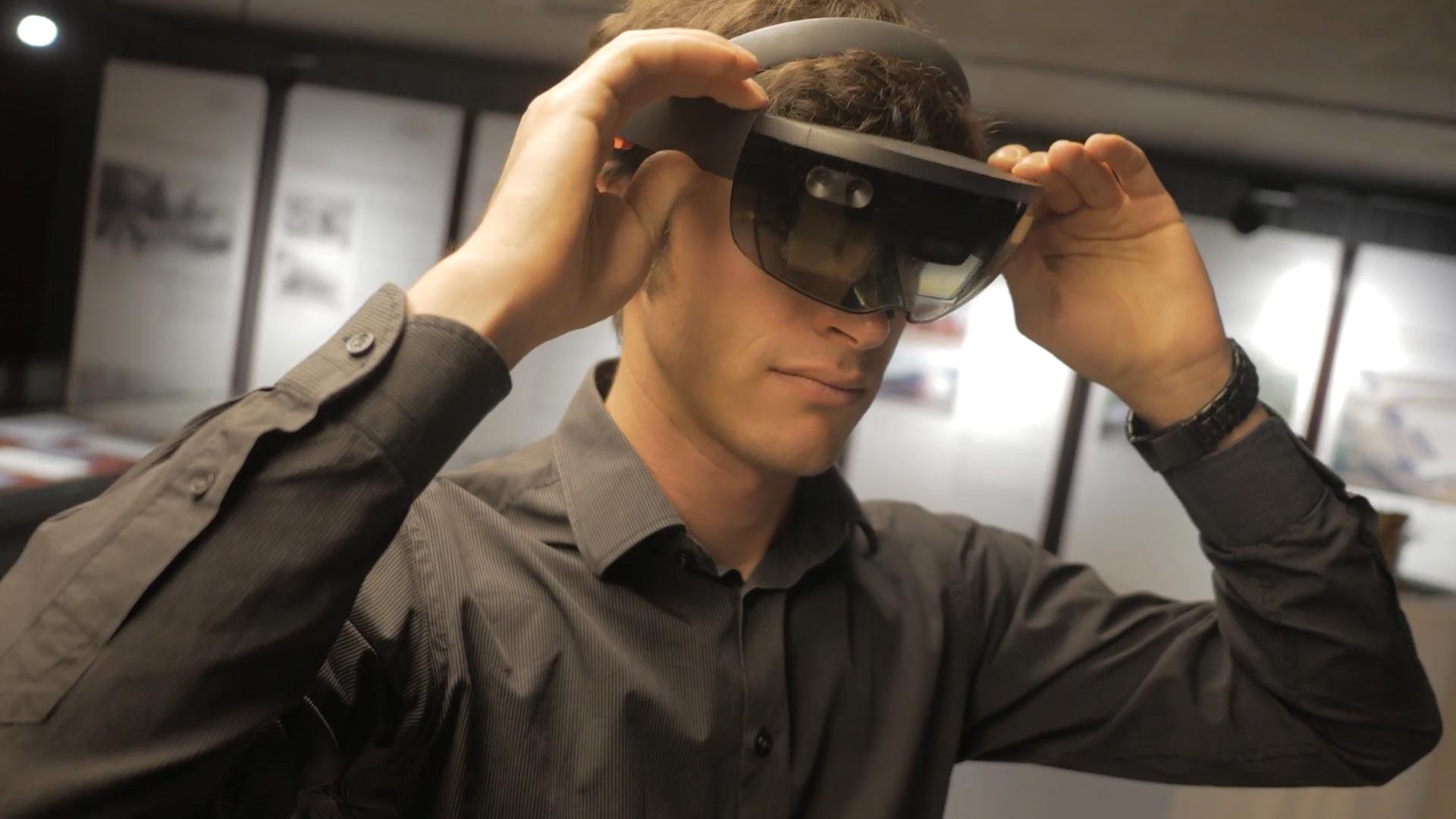 Virtuelle Realität mit der Hololens